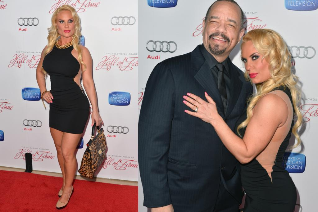 The Bad: This look on Coco is like Kate Winslet's illusion-dress triumph gone very, very wrong. We love how she classed it up with a floppy leopard-print bag and three inch nails too. But, you know what, she's Ice-T's Mrs and she's sassy, so she suits this look better than most would.