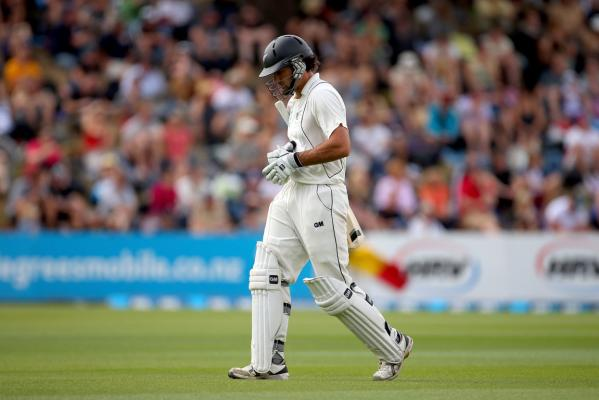 Second test: NZ v England