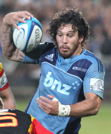ON THE RIGHT TRACK: Steve Hansen confirmed Rene Ranger was on the right track for All Blacks selection.