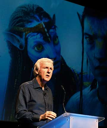 LIVING IN PANDORA: Director James Cameron is working on the script of Avatar 2 & 3 from his farm in Wairarapa.
