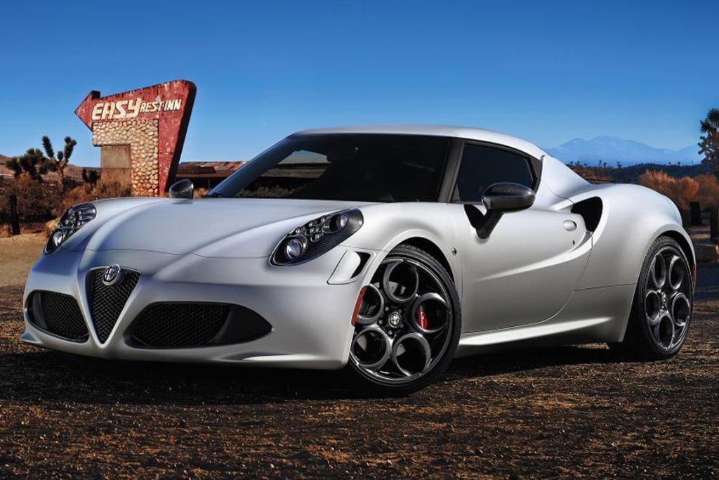 Alfa Romeo 4C launch edition.