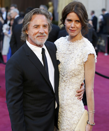 DON JUAN: Actor Don Johnson and his fourth wife, Kelly Phleger, who is 19 years his junior.