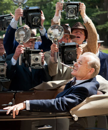 Killing it: Bill Murray as Franklin D Roosevelt in Hyde Park on Hudson, a role that came from his heart.