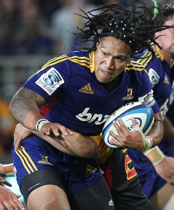 DESPERATE TIMES: Ma'a Nonu and the Highlanders are still chasing their first win of the Super Rugby season.