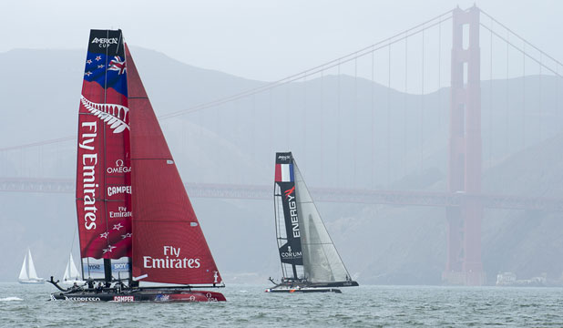 Sailing away: Some believe there has not been enough scrutiny over the money given to Team New Zealand.