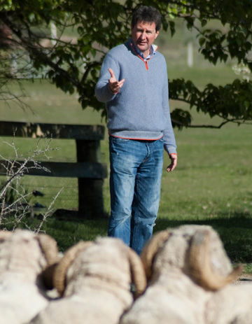 New Zealand Merino CEO John Brakenridge.