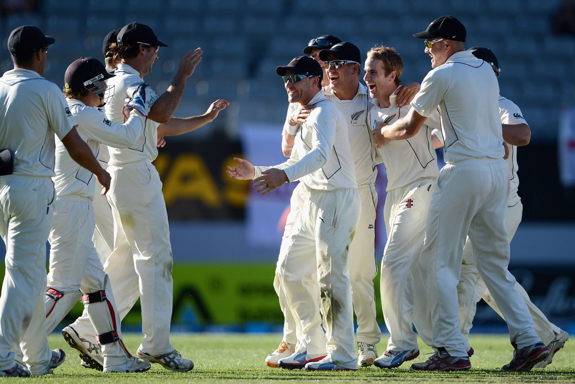 New Zealand v England third test