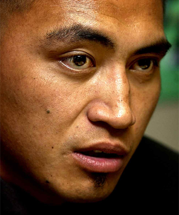 STILL HELD: Jerry Collins remains in custody in Japan.