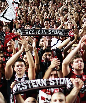 Western Sydney Wanderers supporters