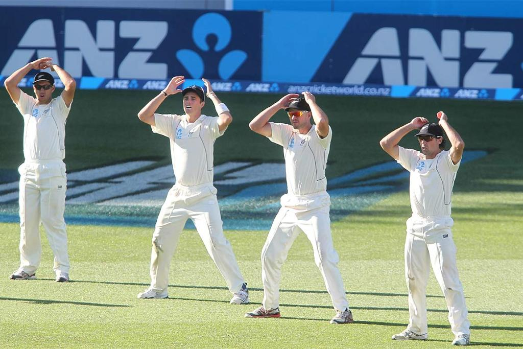 Third Test: New Zealand v England