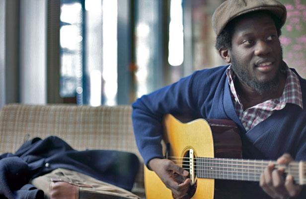 "ALWAYS WAITING: ""I didn't know if I could sing. But then I gave it a go,"" says British singer-songwriter Michael Kiwanuka."