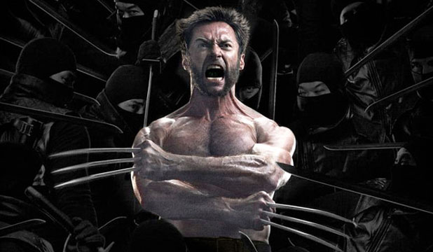 Fox's latest marketing strategy for The Wolverine. Add ninjas and see what happens.