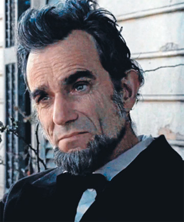 Daniel Day Lewis as Lincoln.