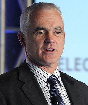 JOB CUTS: Telecom CEO Simon Moutter says the job losses are part of a move to a more competitive business.
