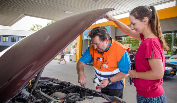 Service: Z Energy has found the personal touch leads to happy customers.