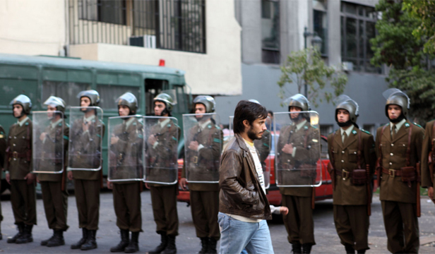 SPEAKING OUT: Gael Garcia Bernal in No, set in Chile during the dictatorship of General Augusto Pinochet.