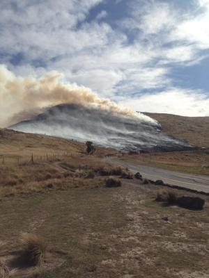 Port Hills fire, 30 March 2013
