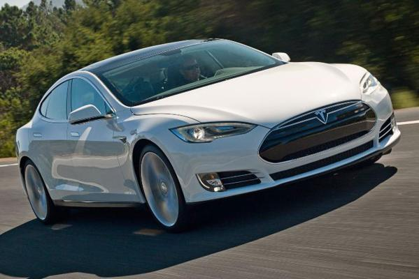 The electric Tesla S named world green car of the year.