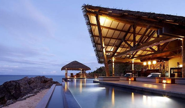 TADRAI ISLAND: Luxuriate at a five-star retreat in the Mamanuca Islands chain.