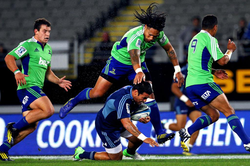 Ma'a Nonu's shoulder charge on Piri Weepu earned him 10 in the bin.