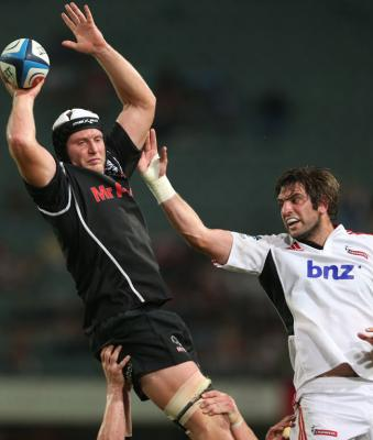Crusaders v Sharks