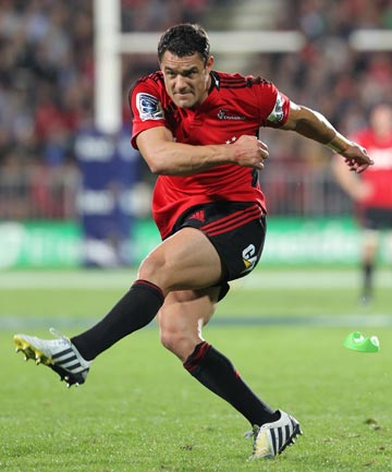 INJURY BLOW: Dan Carter will miss the Crusaders game against the Western Force.