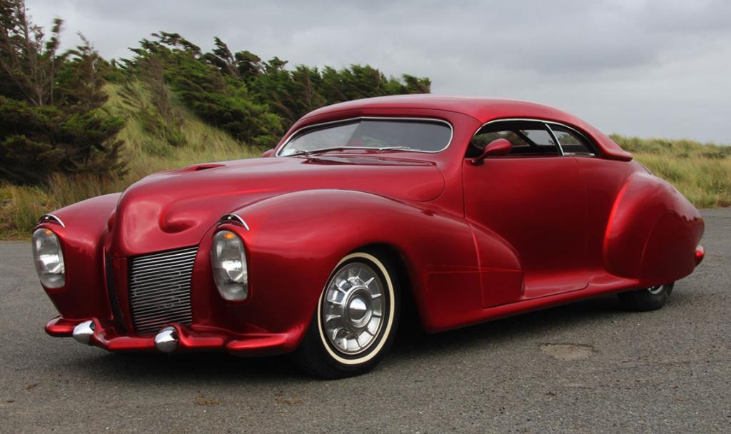 John and Anna Scarlett's 1940 Ford Mercury custom convertible.
