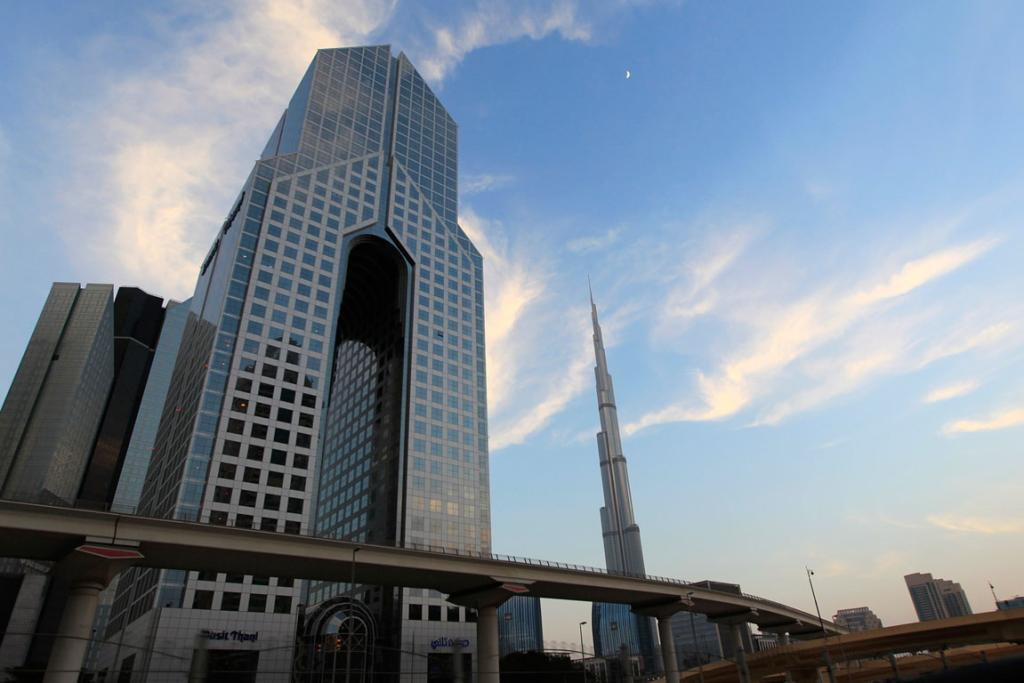 Dusit hotel and residences on Sheikh Zayed road.