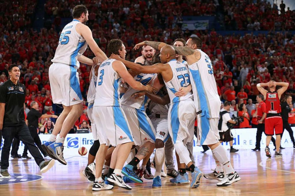 Breakers celebrate three-peat