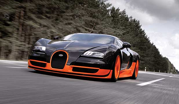 BACK ON TOP: Guinness reinstates the Bugatti Veyron as the world's fastest production car.