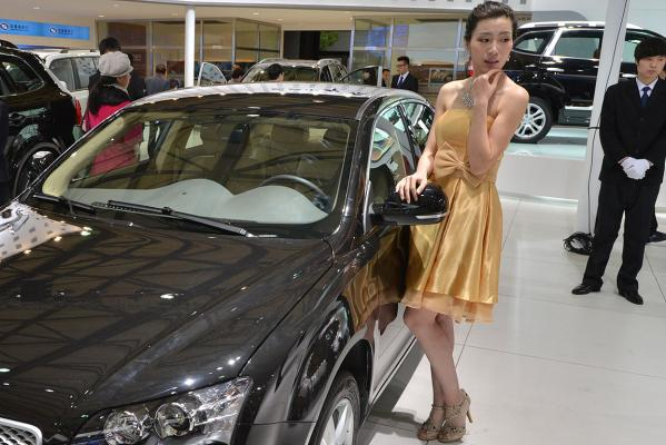 Girls of the Shanghai Motor Show.