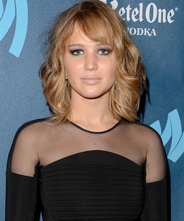 CHOP AND CHANGE: Jennifer Lawrence shows off her new look.