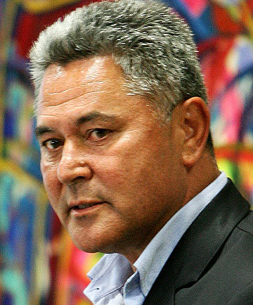 SHOOTING FROM THE LIP: John Tamihere.