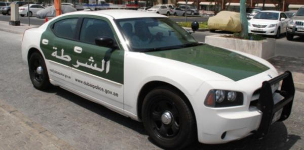Dubai police force's Dodge Charger.