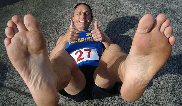 Weird science: running barefoot can improve your working
