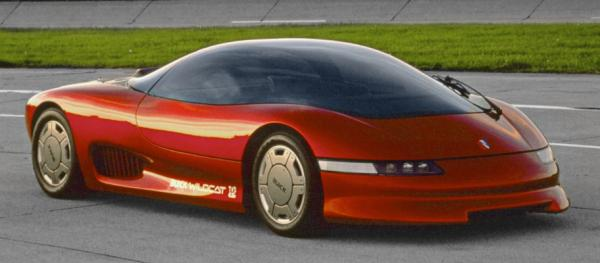 The Buick Wildcat concept from 1988.
