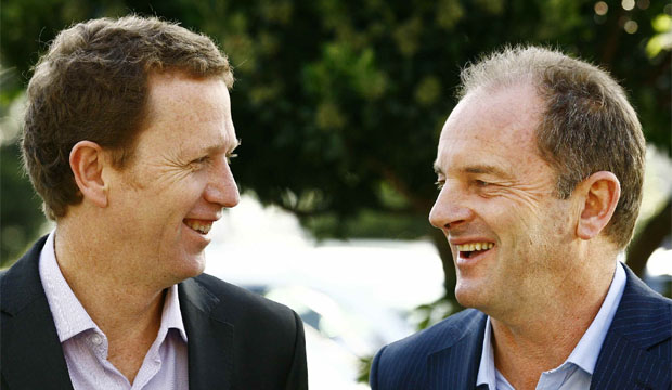 Russel Norman and David Shearer