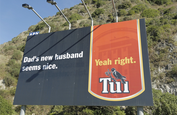 Tui gay billboard