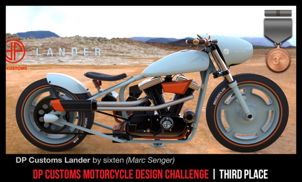 Design Competition Unearths Custom Sportsters