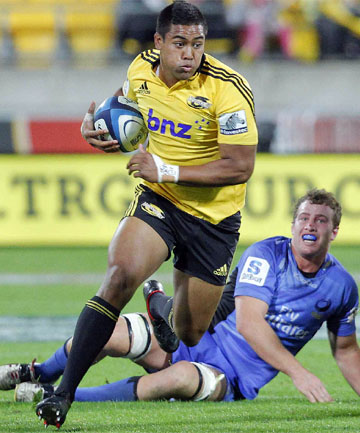 BACK IN THE FOLD: Hurricanes and All Black wing Julian Savea will start against the Bulls.