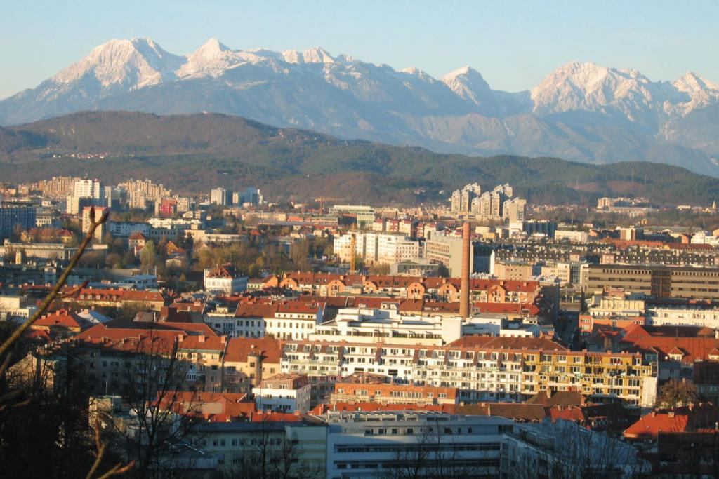 Ljubljana, Slovenia's capital city.