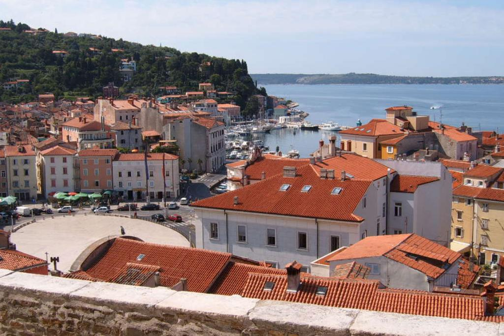 Piran is Slovenia's version of Venice