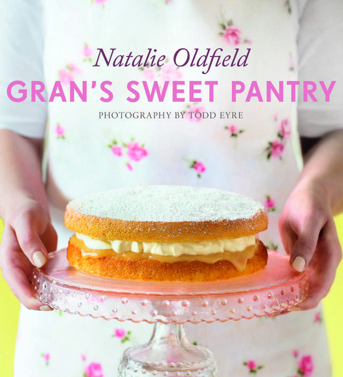 If you love old-fashioned baking, you'll love the treats in Gran's Sweet Pantry by Natalie Oldfield (HarperCollins, RRP$44.99).