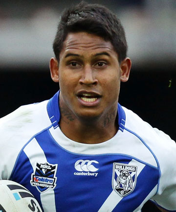STAR QUALITY: Bulldogs fullback Ben Barba.