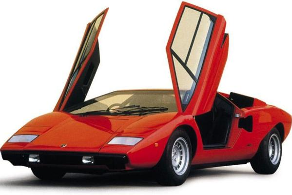 lamborghinis old and new photos motoring. Black Bedroom Furniture Sets. Home Design Ideas