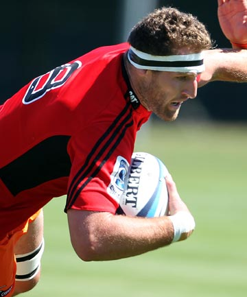 RETURN TO ACTION: Kieran Read is set to make his comeback from injury against the Blues.