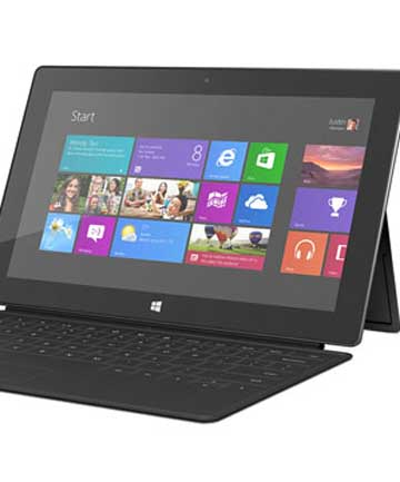 Microsoft envisioned a bounty of new Windows 8 touch-screen devices, including laptops with displays that also respond to finger gestures.