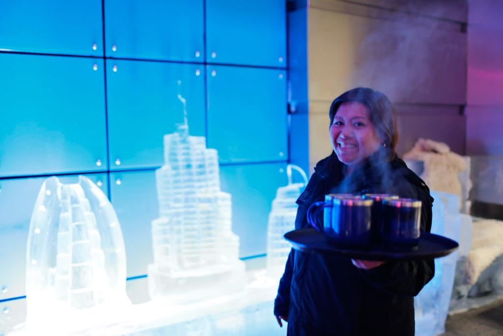 Chillout, owned by UAE's Sharaf Group, is the first ice lounge in the Middle East.