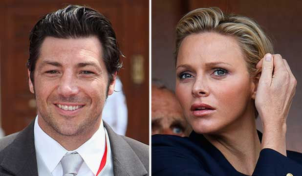 RUMOUR MILL IN OVERDRIVE: Ex All Black Byron Kelleher is said to have an affair with the wife of Prince Albert of Monaco, Princess Charlene.