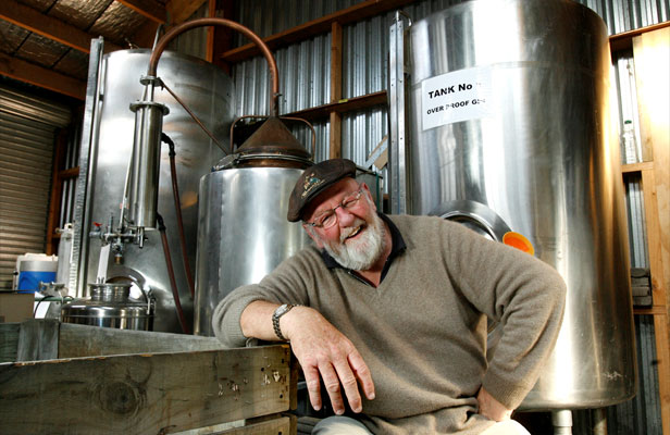 """Neil Catherall, 65, calls turning to distilling an """"active retirement plan"""""""